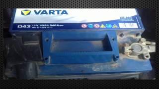 Аккумулятор Varta D43 60Ач 540A (Отзывы)(, 2014-12-25T07:50:41.000Z)