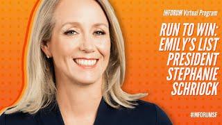 Run to Win: EMILY'S LIST President Stephanie Schriock