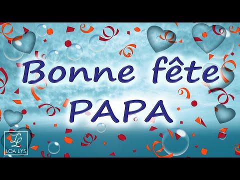 Bonne Fete Papa Jolie Carte Virtuelle Fete Des Peres Humour Saxo Youtube