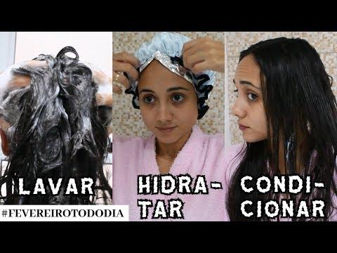 ♥ COMO LAVAR, HIDRATAR E CONDICIONAR OS CABELOS #fevereirotododia 27 ♥