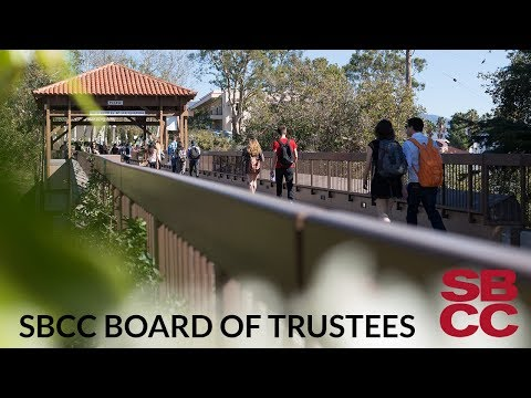 SBCC Board of Trustees 3/22/2018