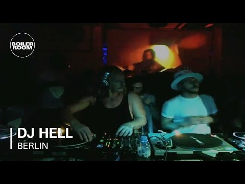 DJ Hell 65 min Boiler Room Berlin DJ Set