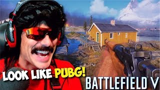 DrDisRespect Reacts to Battlefield V: Battle Royale Raw Gameplay! (3/21/2019)