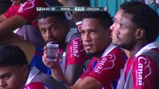 Bahia 3 x 0 Galícia  - Gols de Allione, Lucas Fonseca e Régis