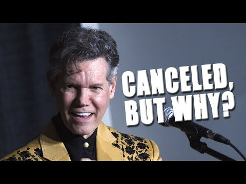 Randy Travis Abruptly Cancels Most Of His 2019 Tour