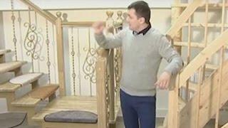 видео Лестницы из стекла и металла: фото, требования к ступенькам