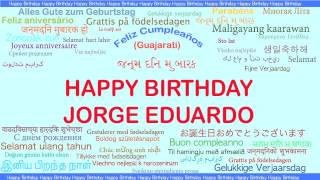Jorge Eduardo   Languages Idiomas - Happy Birthday
