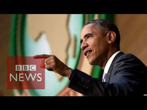 Obama: 'Nobody should be president for life' - BBC News