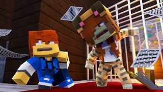 Minecraft Daycare - ZOMBIE TINA ATTACKS !? (Minecraft Roleplay)