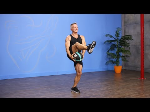 Med Ball Tabata Workout