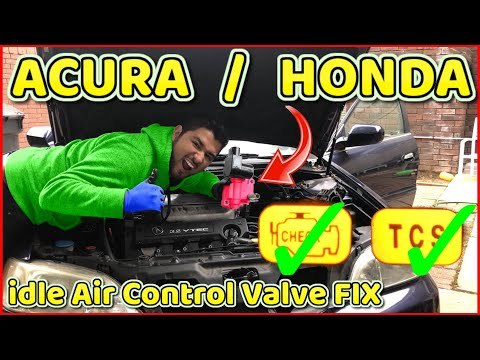 idle air control valve fix for Acura TL and Honda Accord P0505