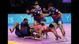 Pro Kabaddi 2018 Highlights   Dabang Delhi vs Jaipur Pink Panthers   Hindi