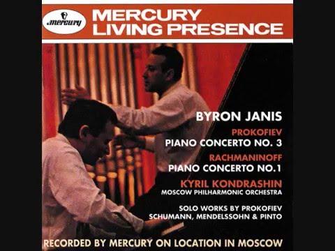 Byron Janis - Rachmaninoff concerto No.1