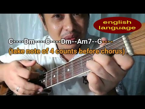 Chords of Wind of Change - Scorpions acoustic guitar tutorial lessons