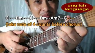 Chords of Wind of Change - Scorpions acoustic guitar tutorial lessons of Pareng Don