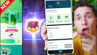 BRAND NEW FEATURE IN POKÉMON GO! + Lugia CANCELLED & New FREE ITEMS!