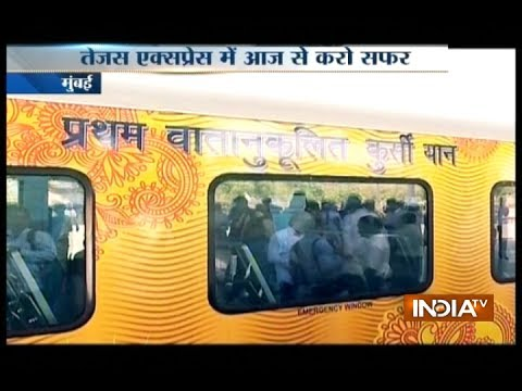 Indian Railways set to launch its first Tejas Express train today