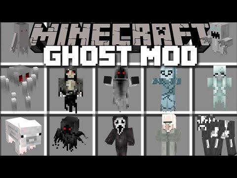 Minecraft GHOST MOD / FIGHT OFF GHOSTS AND GARGOYLES FOR SURVIVAL!! Minecraft