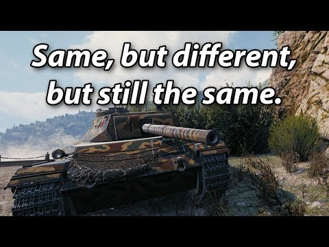 Same, but different, but still the same.