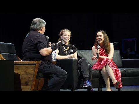 Simone Giertz's Silicon Valley Comic Con Panel!