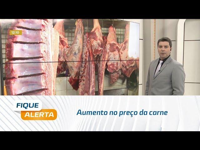 Clientes e vendedores já estão sentindo no bolso o aumento no preço da carne