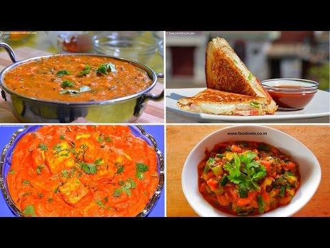 Best 5 Recipes For Beginner | Top Indian Vegetarian Recipes Compilation.