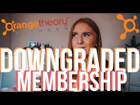 Why I Downgraded My Orangetheory Fitness Membership   VLOG & RANT