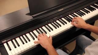 Roland Digital Piano — Split Modes on RP-301R