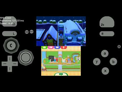 Citra Android Test Animal Crossing New Leaf 7 Fps