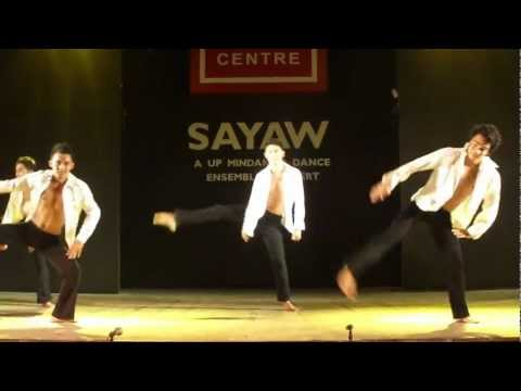 UP Mindanao Dance Ensemble 2012 Concert (Black and Gold)