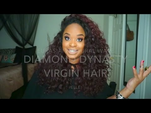 Diamond Dynasty Virgin Hair Eurasian Natural Wave Initial