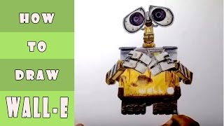 How To Draw WALL E From WALL E Movie