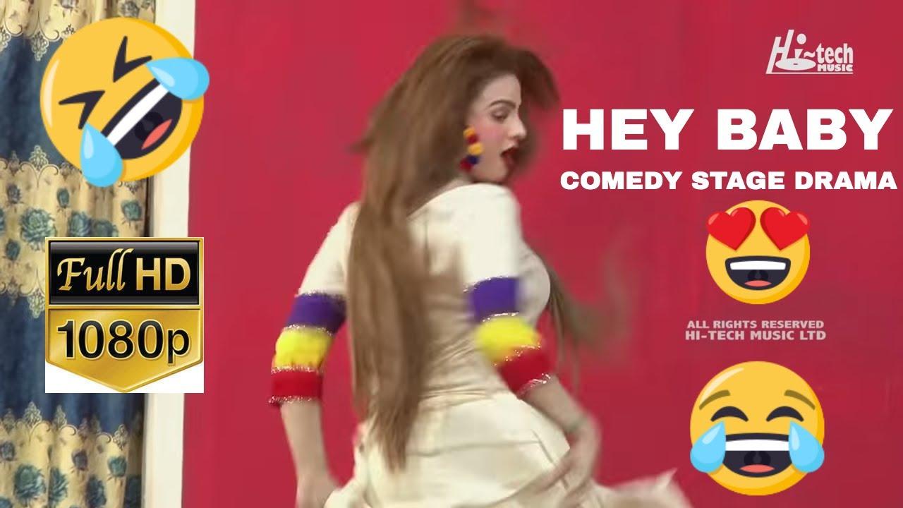 HEY BABY (TRAILER) 2019 NEW PUNJABI COMEDY STAGE DRAMA - HI-TECH STAGE DRAMAS