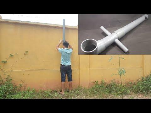 How to make a Periscope using PVC Pipe - Simple Submarine Binoculars