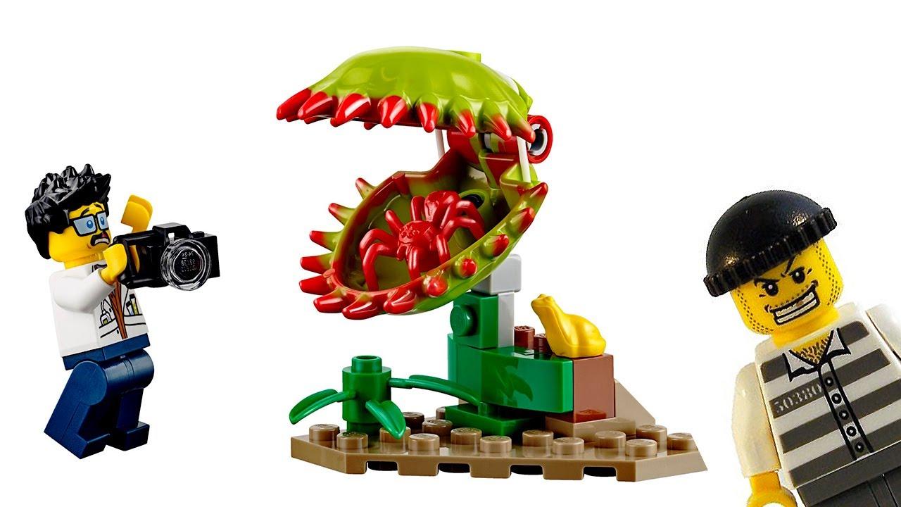 ЛЕГО СИТИ 60161 ДЖУНГЛИ и Украденное Сокровище #Лего Мультики для детей #LegoCity Jungle