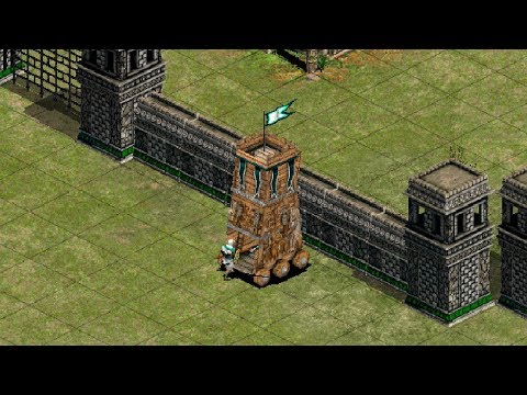 Aoe2 WololoKingdoms - Can a Siege Tower Actually Work?