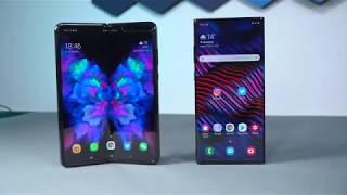 Samsung Galaxy Fold vs. Galaxy Note 10+ - die beiden Top-Smartphones im Vergleich
