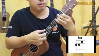 Tự học Ukulele 06 - Điệu Fox - Đệm hát mặt trời bé con bằng Ukulele