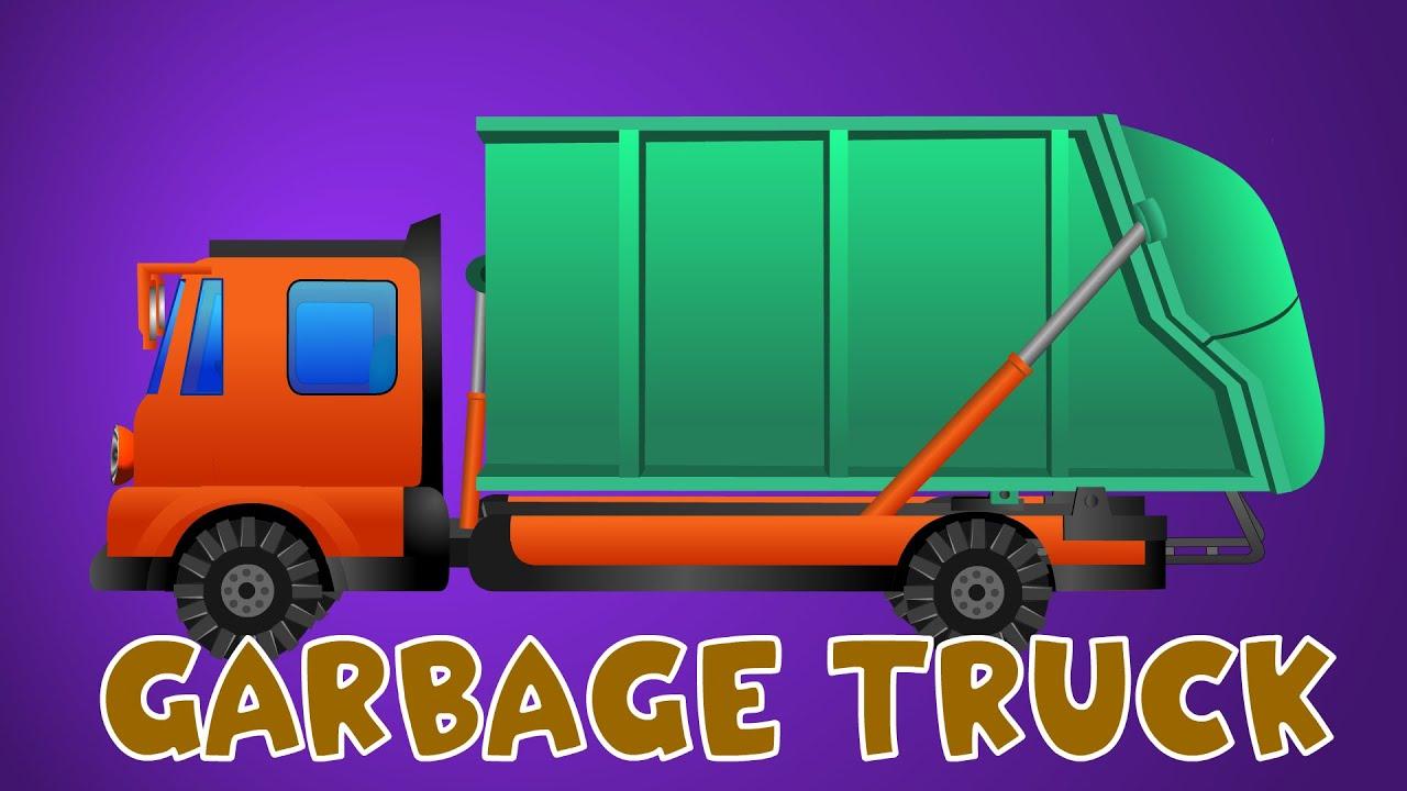 garbage truck cartoon - photo #20