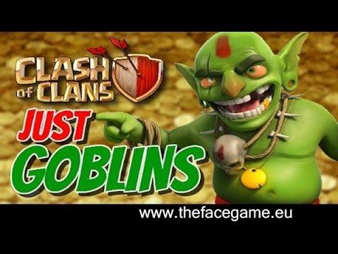 ATTACCO SOLO GOBLIN +300k RISORSE --Clash of Clans--