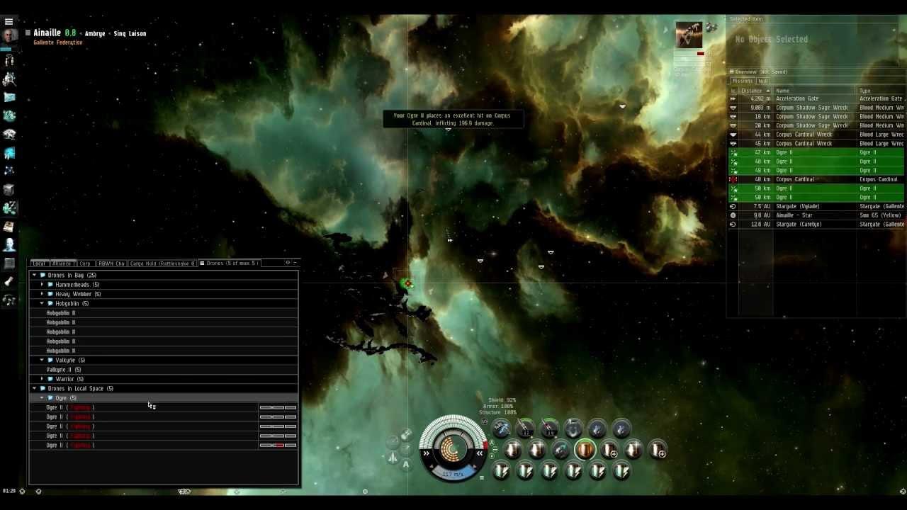 Eve Online Rattlesnake T2 Passive Dread Pirate Scarlet