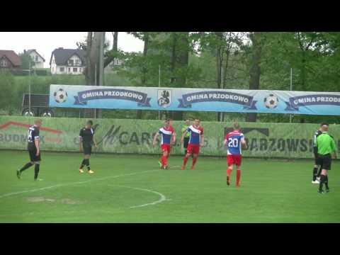 III liga: GKS Przodkowo - Gryf Słupsk 5:1 (3:1)