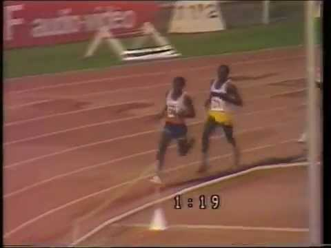 1985 Nice Men's 1500 metres world record