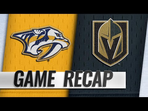 Pacioretty scores twice in Golden Knights' 5-1 win