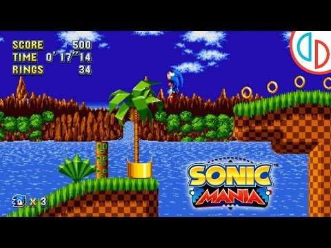 Sonic Mania (Playable!) - yuzu Emulator (Canary 1201) [1080p] - Nintendo Switch - 동영상