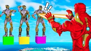 SIMON SAYS with IRON MAN! (Fortnite Avengers Gamemode)