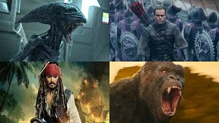 Топ 10 Самых ожидаемых фильмов 2017 года Часть 2