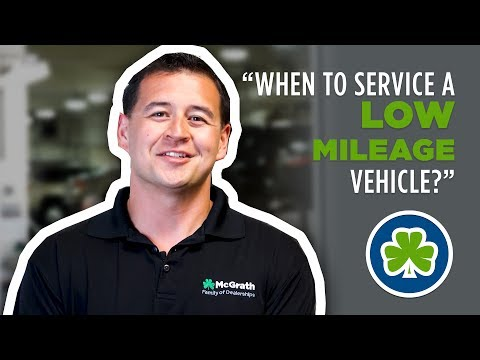 Low Vehicle Mileage Per Year- Servicing | McGrath Auto