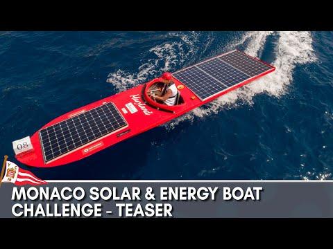 Monaco Solar & Energy Boat Challenge 2018 - Teaser