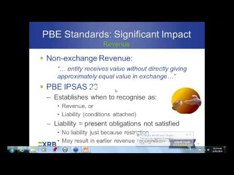 New Financial Reporting Requirements for Large Not-for-Profit Organisations (NZ IFRS PBE
